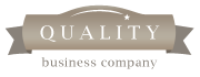 Quality business logo - goudkleurig